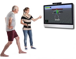 Jintronix is a rehabilitation platform that combines motion capture technology with therapy-focused games.